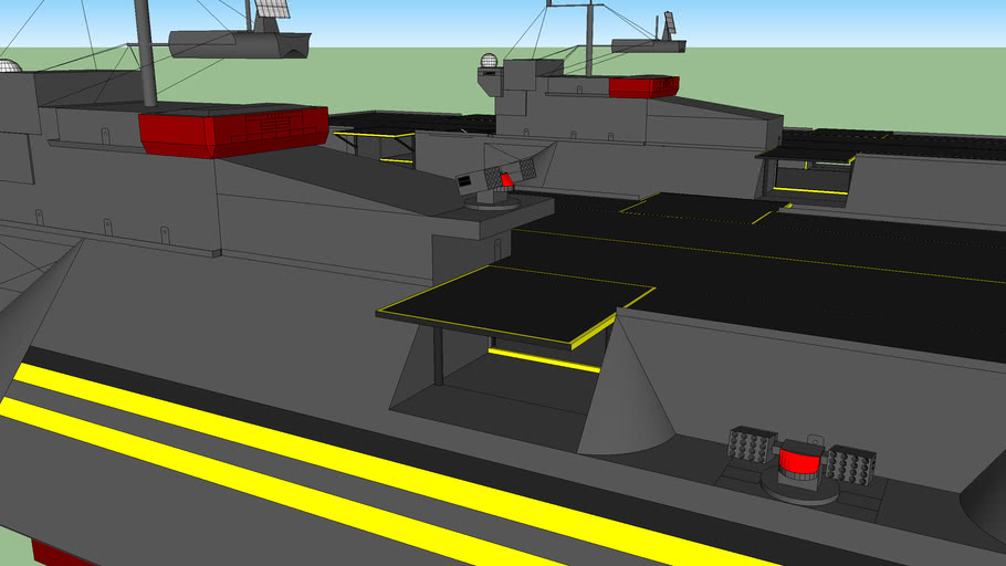 CVN Super Aircraft Carrier Hybrid (MI)