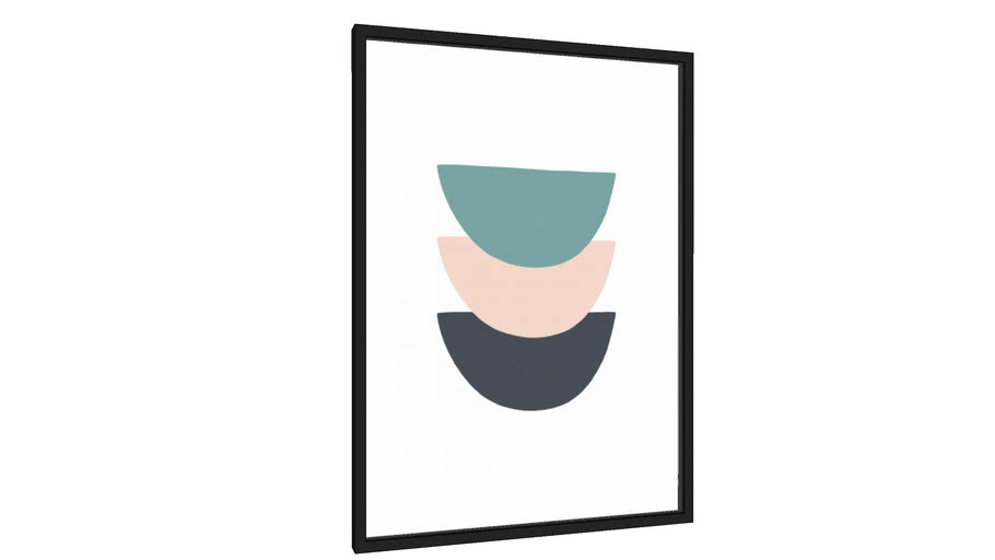 Quadro Equilíbrio B - Galeria9, por Rachel Moya