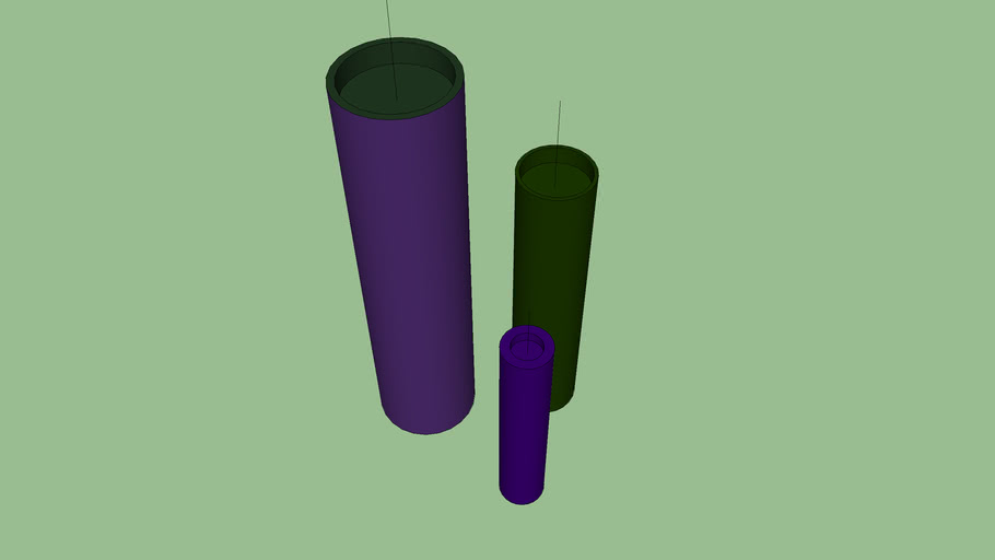 candles purple