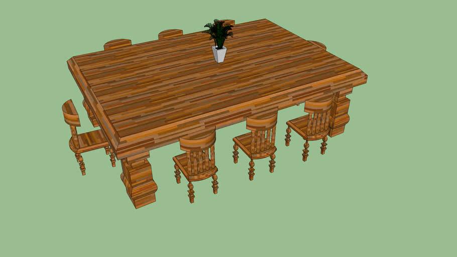 comedor de madera,juan,gp113mat:7445