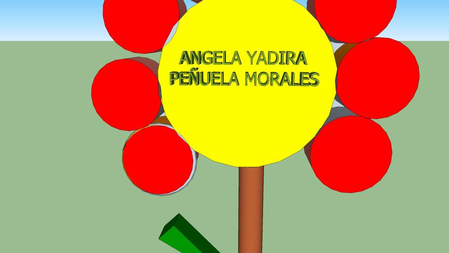 Diseño 3d  Angela Yadira Peñuela Morales