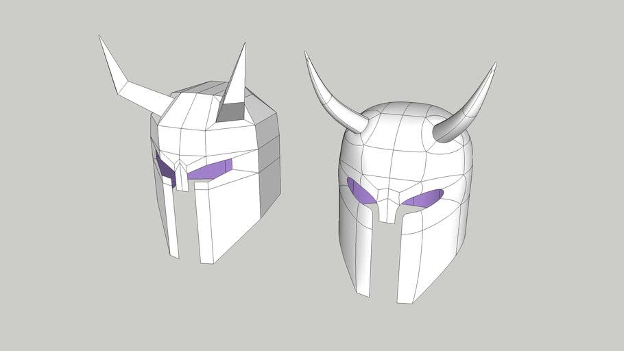 3D Basecamp 216 Quad Modeling Class - Helmet