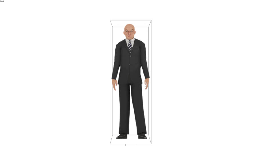 ROCKIT3D | People 0012 stand
