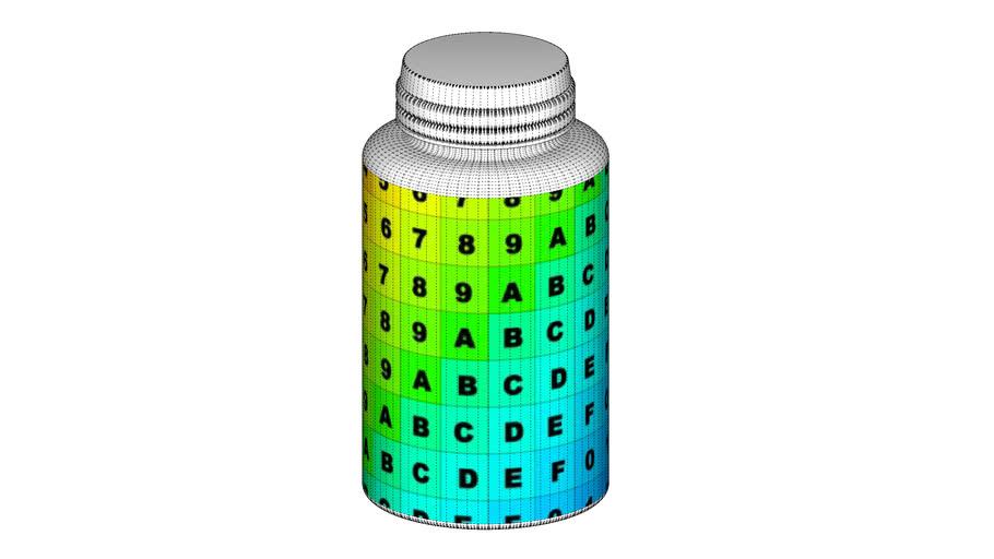 Plastic Pill Bottle