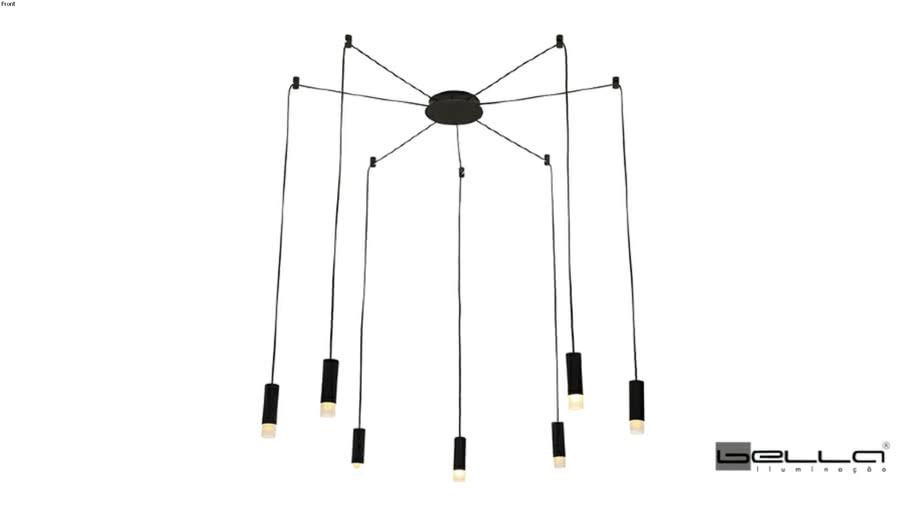 Bella Iluminação | Pendente Spider