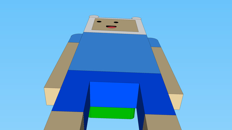 Finn the Human from Adventure Time