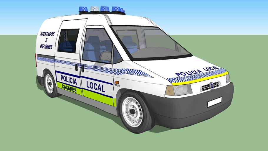 Fiat Scudo Policia Local Casares