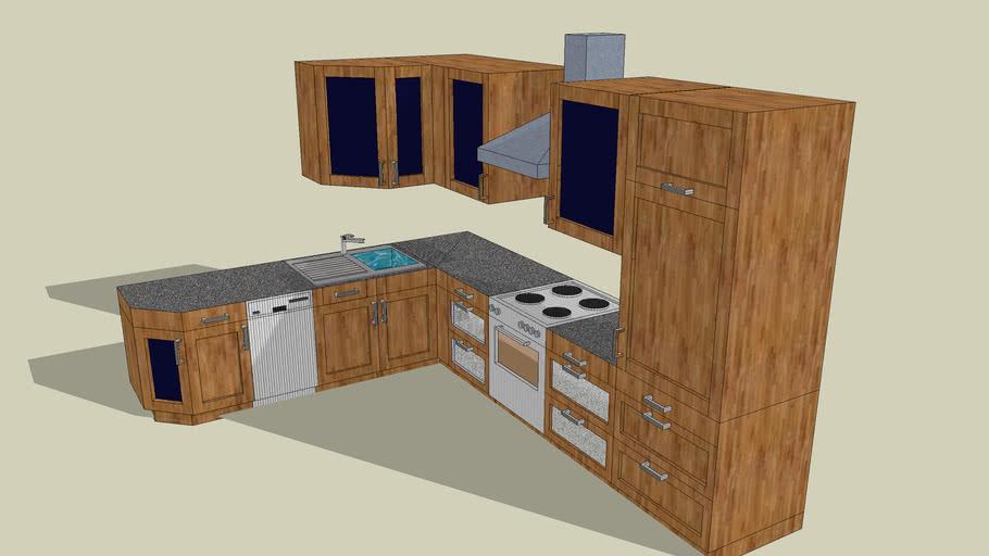 Küche Kitchen Küchenzeile Einbauküche