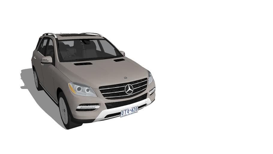RHD 2012 Mercedes ML 350 SUV