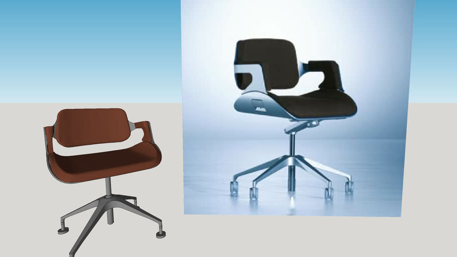 Interstuhl Silver chair - better quality