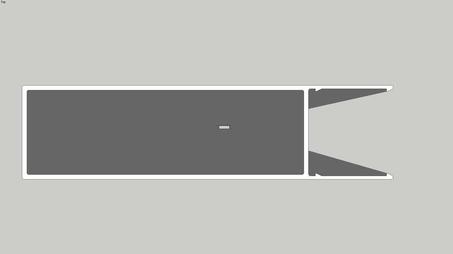 """KEB20050F - Batten  Part B - (2"""" x 8"""")"""