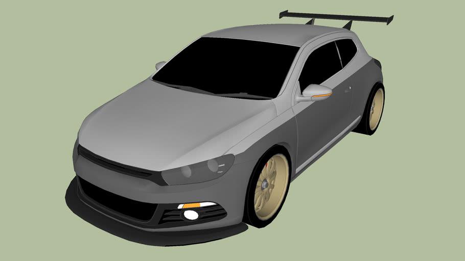 Modified Volkswagen Scirocco
