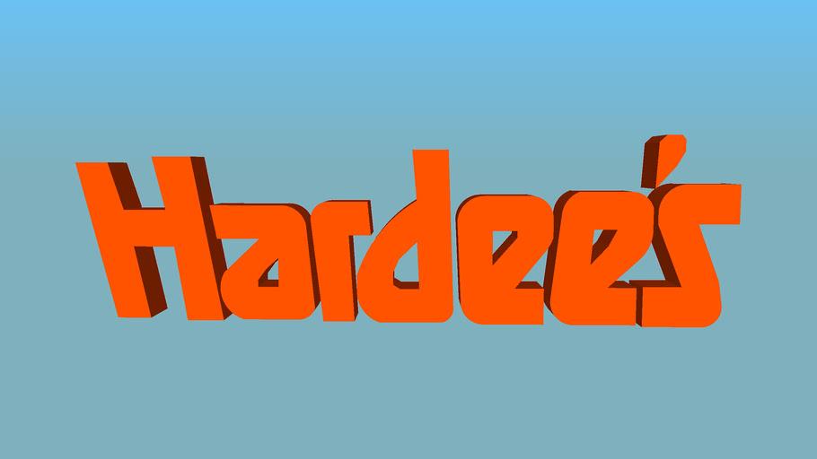 1980's-90's Hardee's Logo