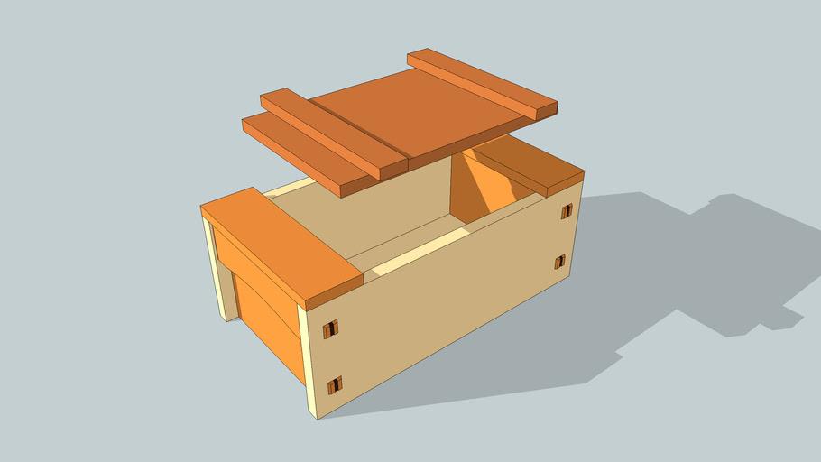 Japanese-style toolbox