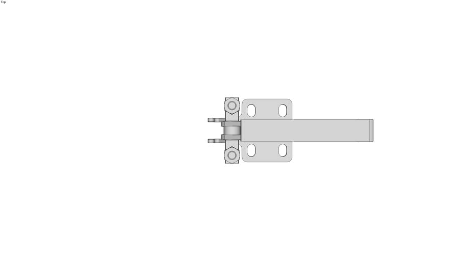 Vertical Latch Clamps with latch bracket