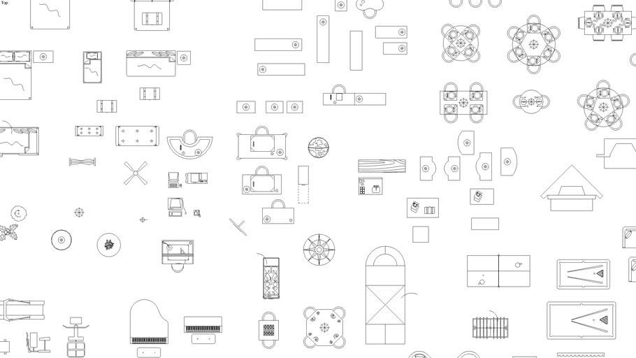 2D Furniture