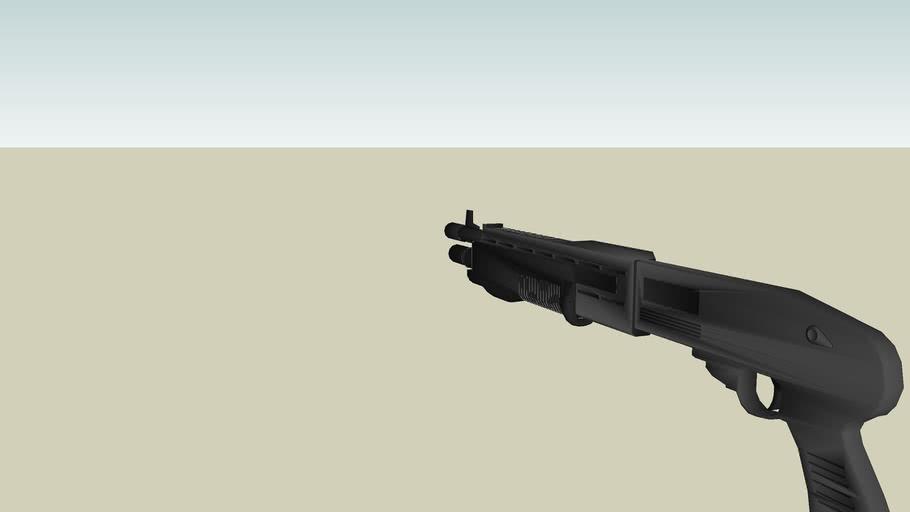 Franchi S (special) P (purpose) A (automatic) S (shotgun) 12 --- SPAS-12