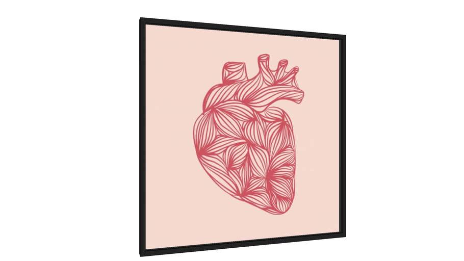 Quadro HEART - Galeria9, por Michelle Cruz