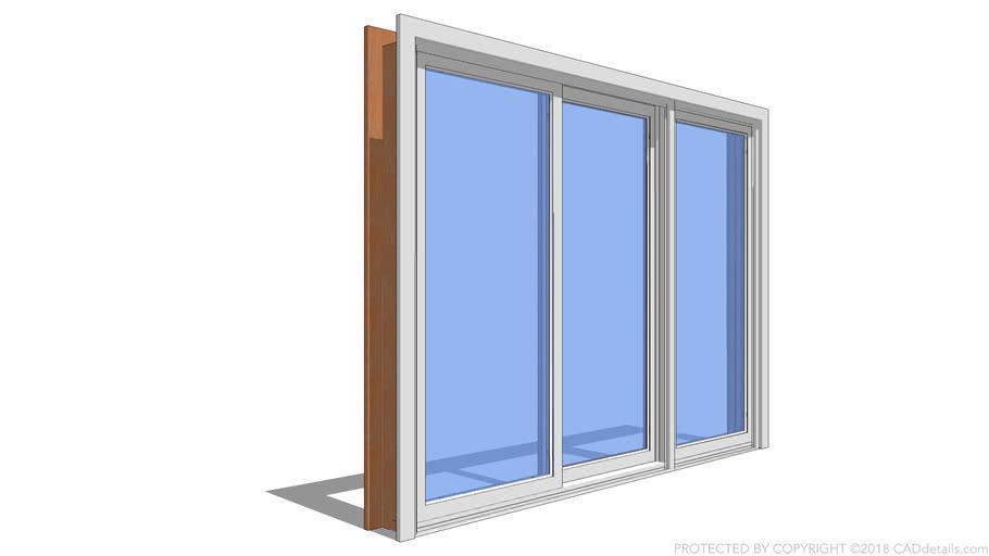 Sliding Patio Door 3 Panel