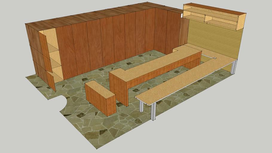 Design of Locker Room