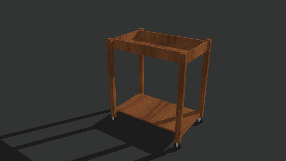 Wood Cart/Dolly