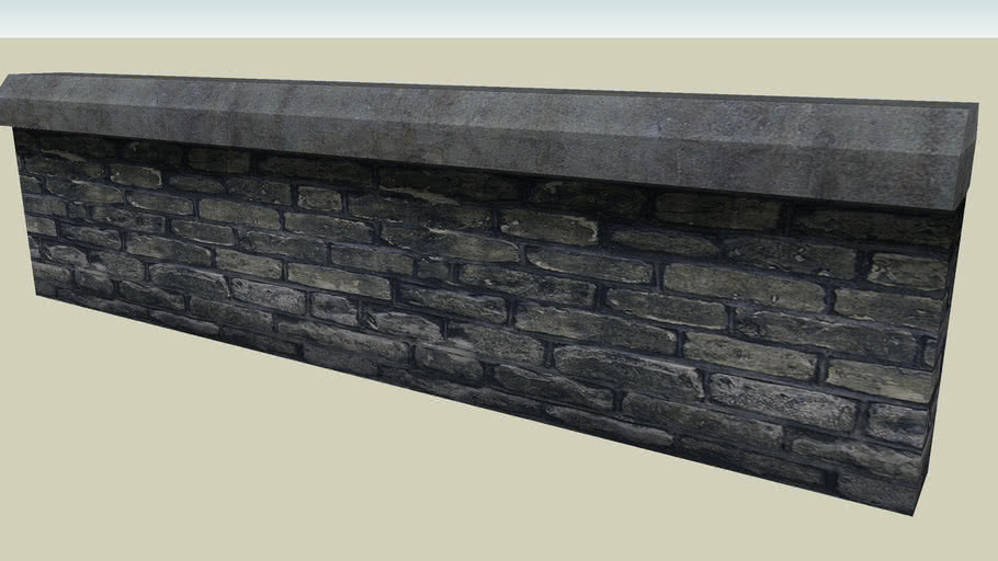 Stone Wall 04-01 - iClone City Elements