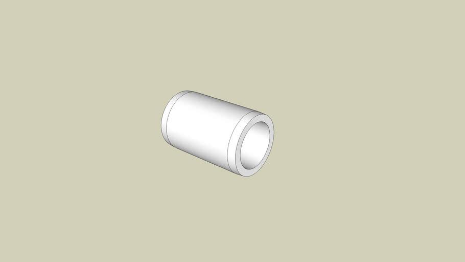 1/2 in. External PVC Coupling - FORMUFIT