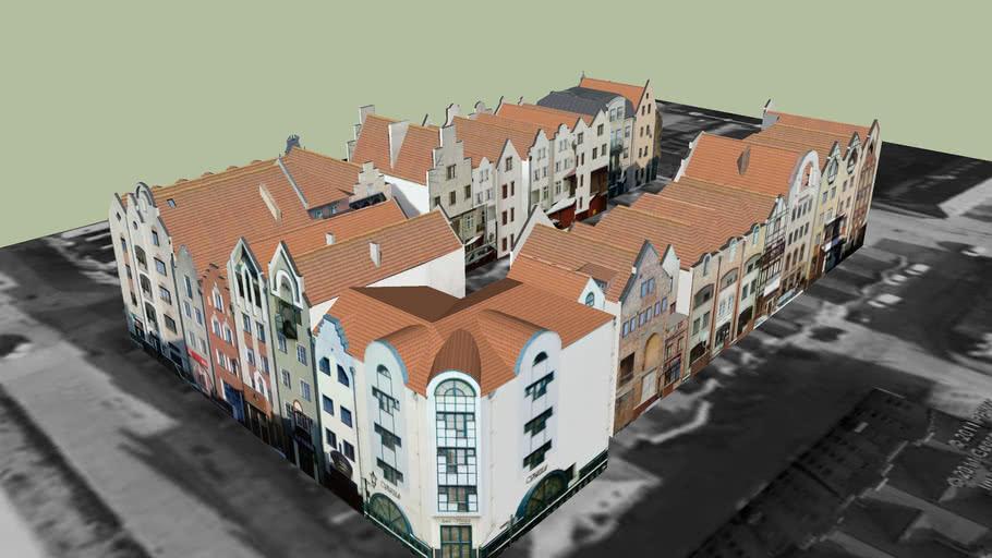 Tenement houses, Elbląg, Poland