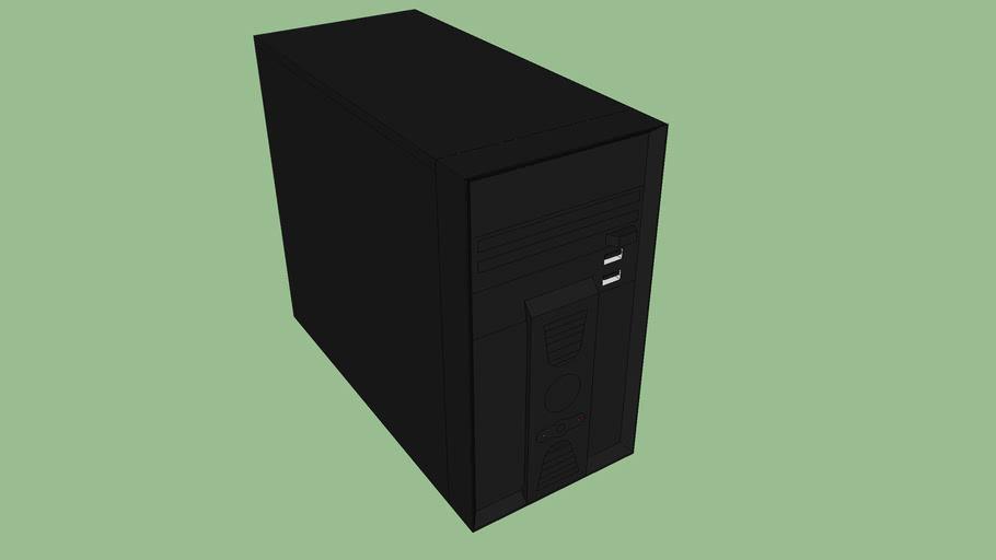 computador preto