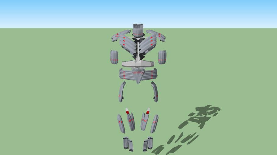 Spartan III MJOLNIR Exosuit MK.III (armor add-ons)