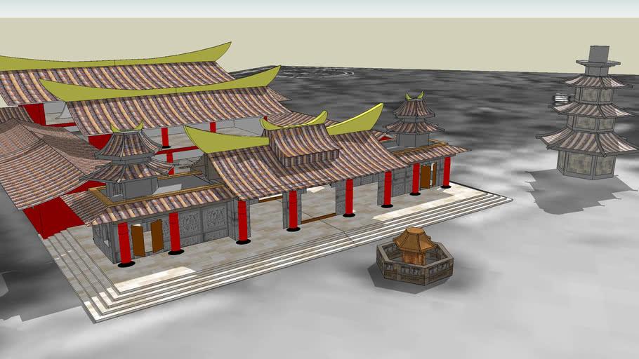 中國文化大學_建築及都市設計學系_第一組_第一題_芝山岩惠濟宮