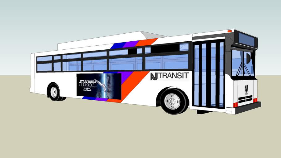 1993 NJ Transit Flxible Metro D