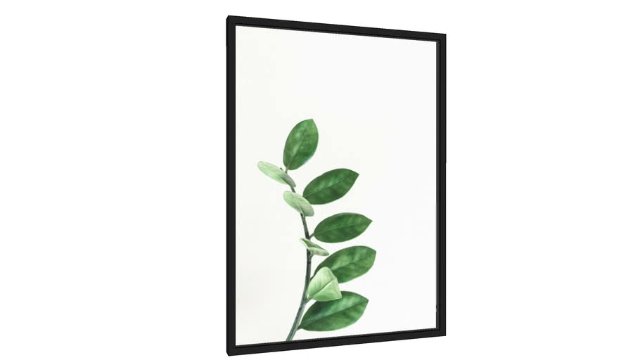 Quadro Minimal Foliage 5 - Galeria9, por Pe.x