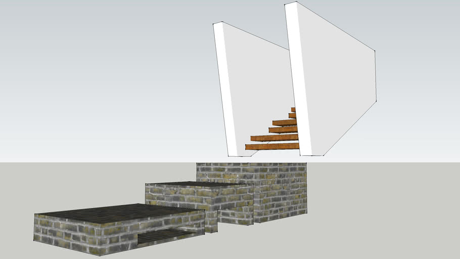 Ceiling staircase