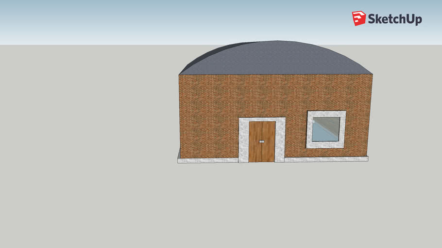 empty_house_with_round_roof:-model.1