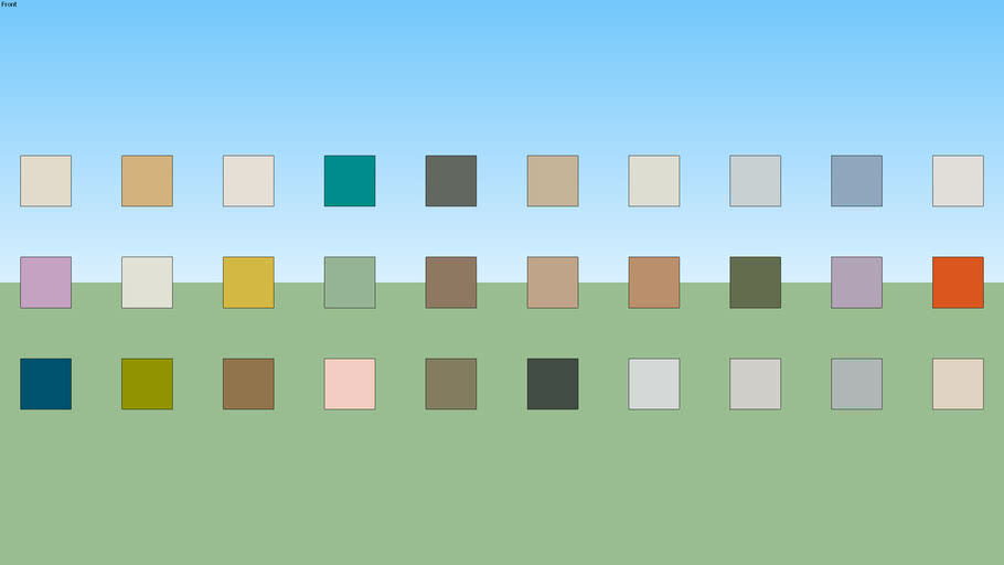 SW Paint Palette 16