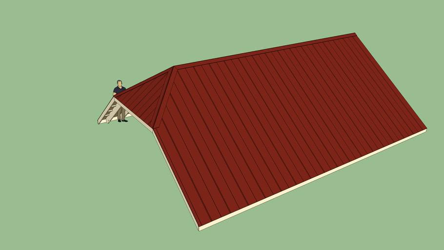 Half Hip Test Roof