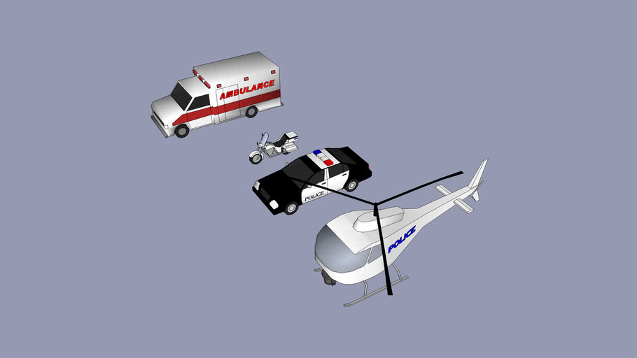 City Heroes Vehicles Collection