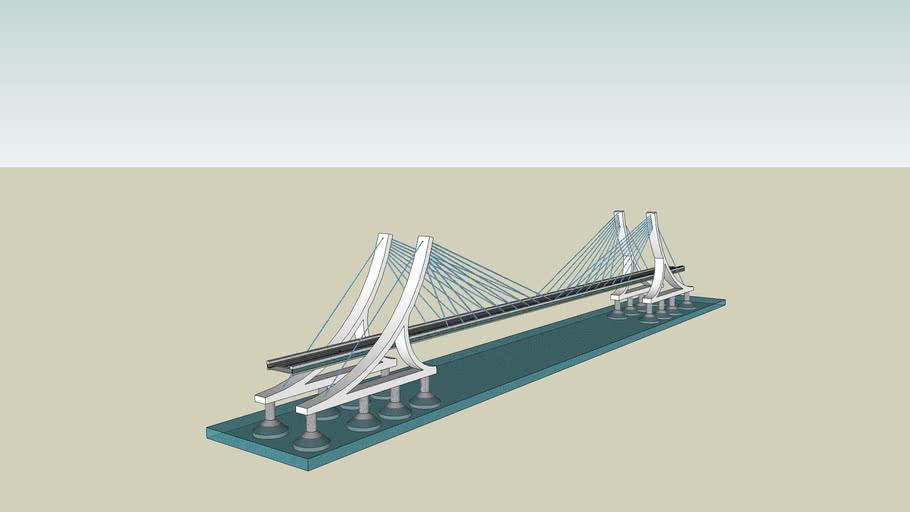 """puente bernardo O""""higgins/CHILE"""
