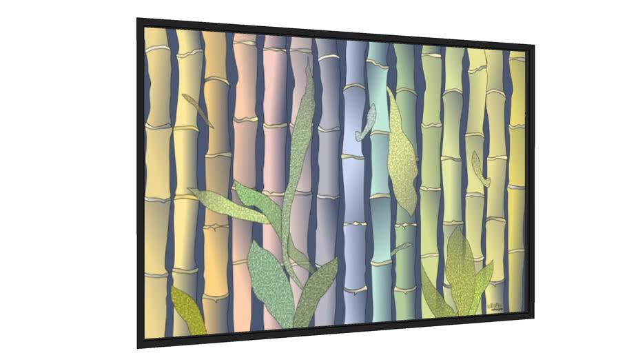 Quadro Bambus - Galeria9, por Alicita