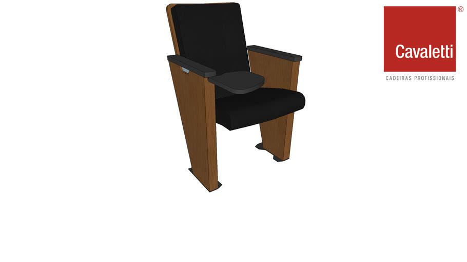 Cadeira Cavaletti Coletiva Com Prancheta 12008
