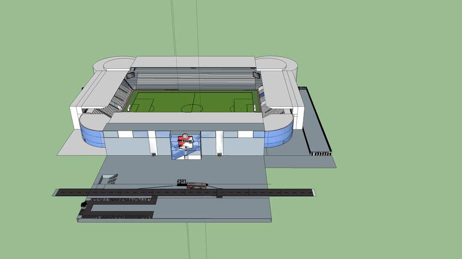 fictief stadion FC Emmen