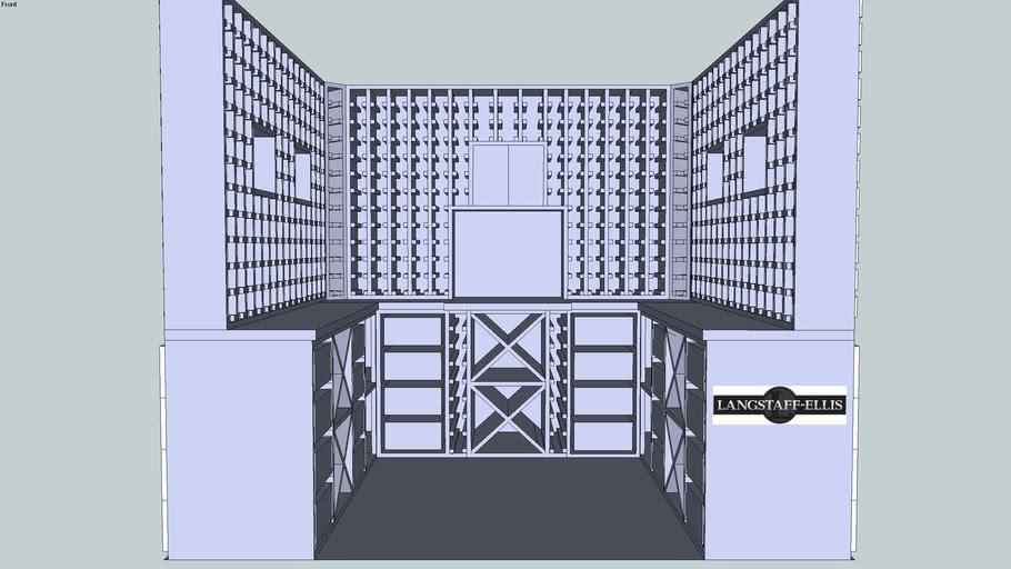Wine cellar by Langstaff-ellis Ltd