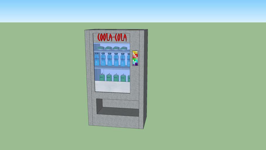 Coola Cola Vending machine