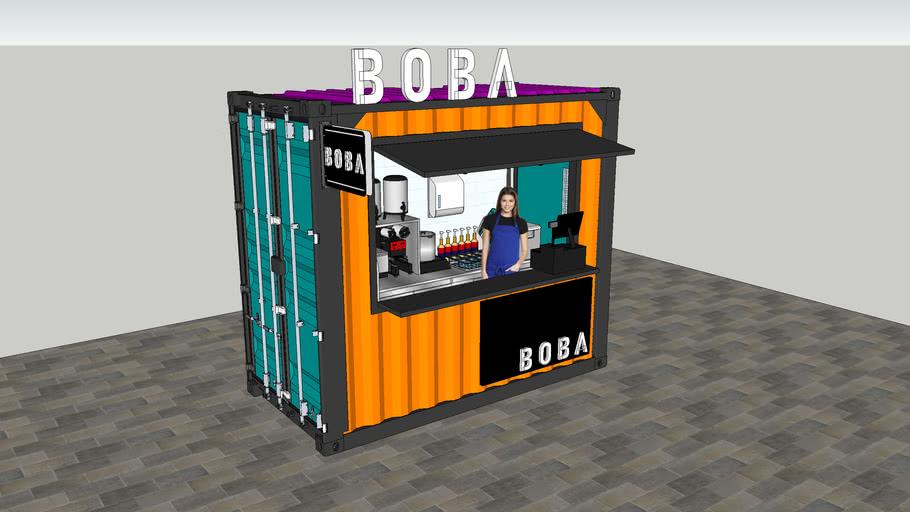 Mini Drink Kiosk Container (Pearl Tea/ Boba)