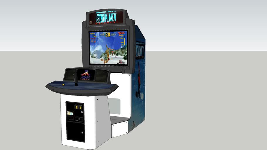 Surf Planet Arcade Game (39 Inch)