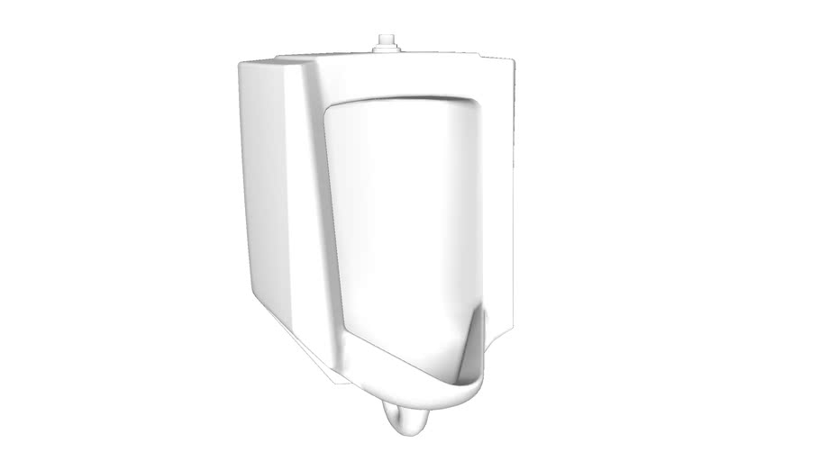 K-4991-ET Bardon(TM) High-Efficiency Urinal (HEU), washdown, wall-hung, 0.125 gpf to 1.0 gpf, top spud