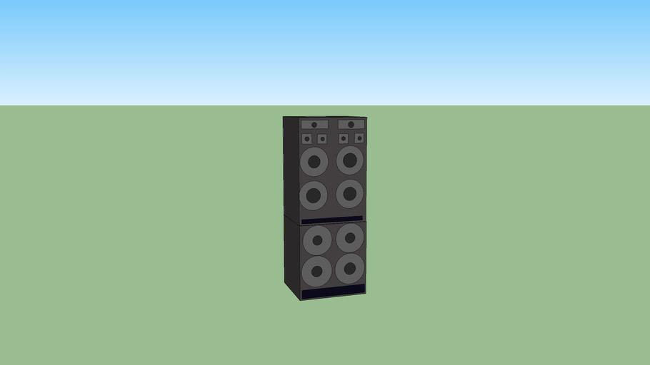 Large speaker setup