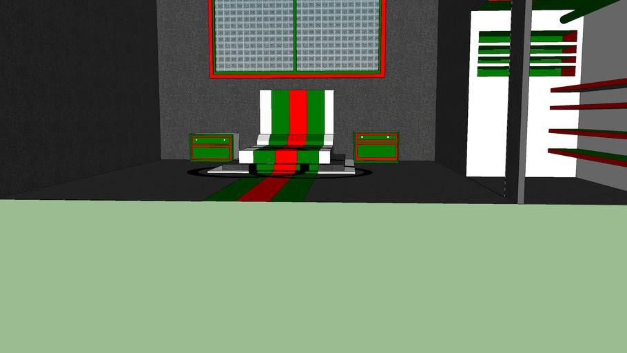 Gucci bedroom | 3D Warehouse