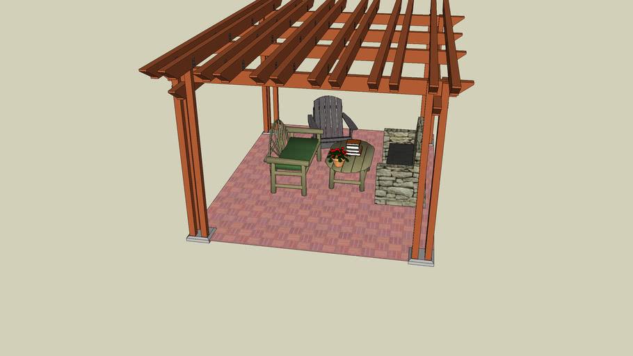 Rustic Patio Extension